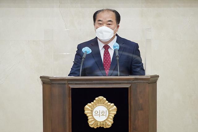 20210407 용인시의회 김운봉 의원, 5분 자유발언.jpg